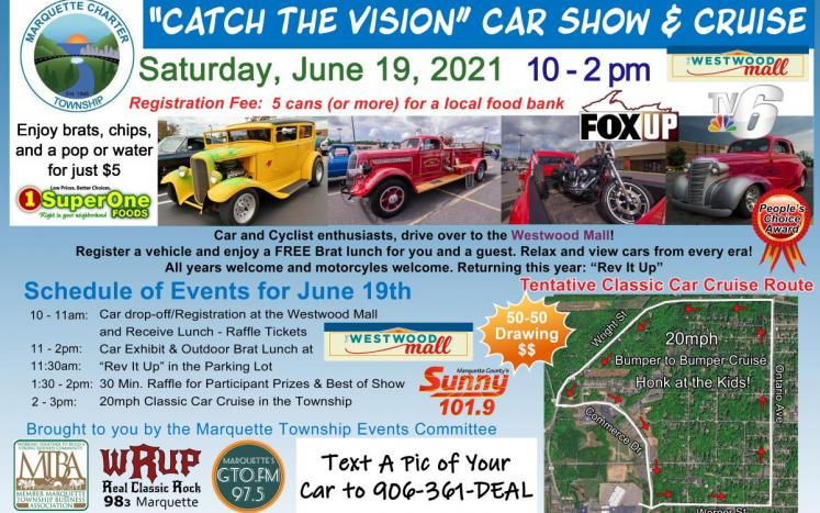 2021 Catch the Vision Car Show Poster