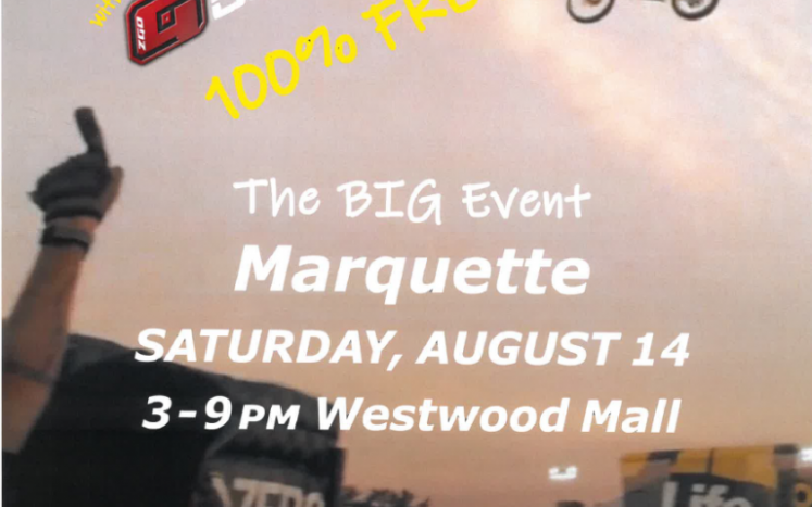UP City Fest at the Westwood Mall on August 14th from 3-9 pm